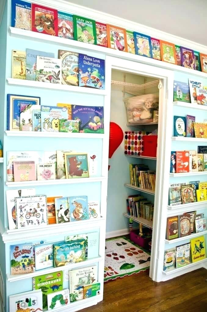 Play room bookcase