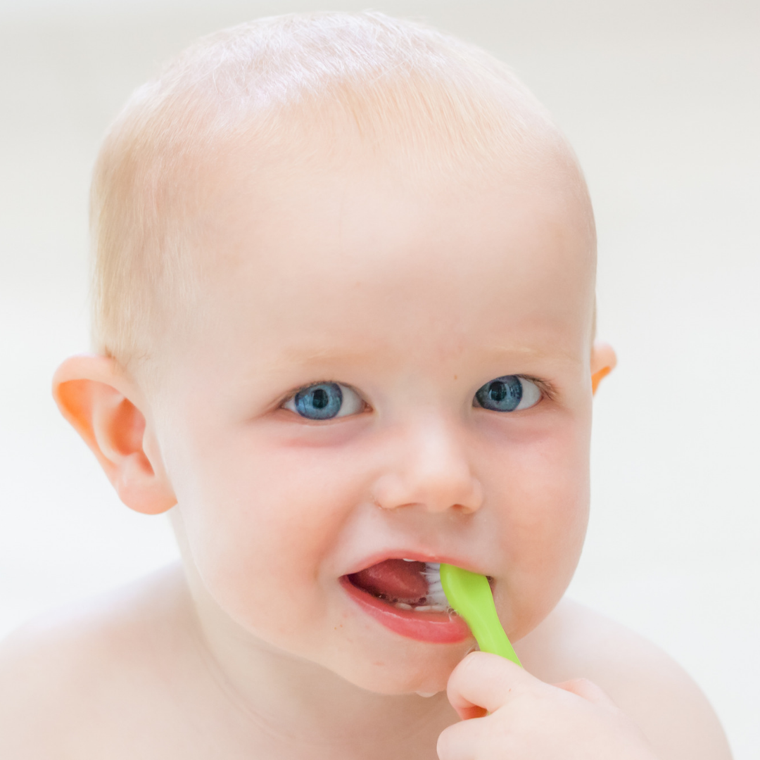 Baby teeth need brushing to remain healthy