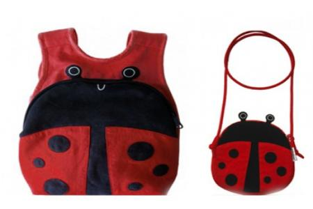 Lady Bug Back Pack