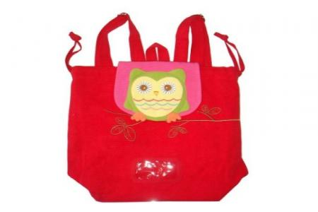Owl Swimming Bag Red