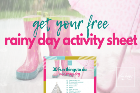 30 Fun things to do on a rainy day