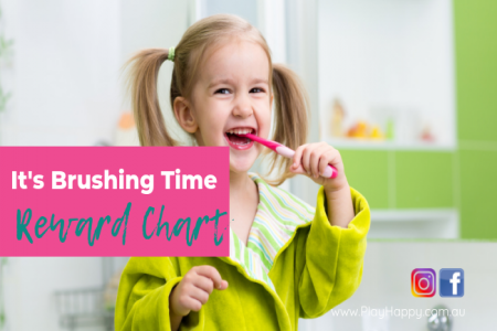 It's Brushing Time - Reward Chart