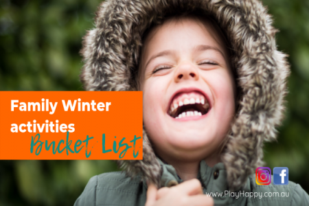 family winter activities bucket list