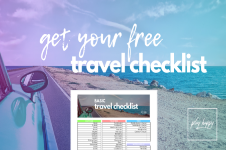 Free travel checklist